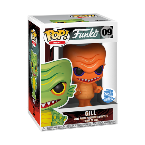 Funko Pop! Funko: Gill #09 (Orange) Funko Shop Exclusive
