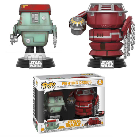 Funko Pop Star Wars: Fighting Droids 2-Pack Gamestop Exclusive - collectorzown