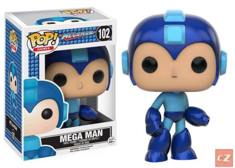 Funko Pop! Games: Megaman Mega Man #102 *New In Box* - collectorzown