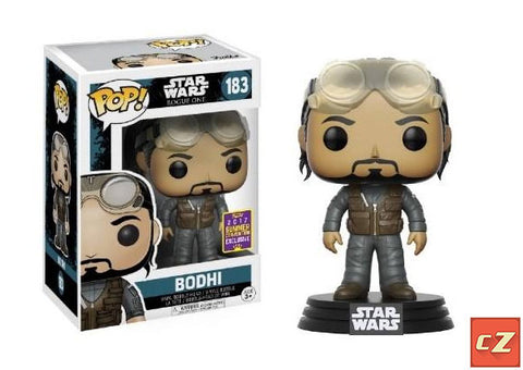 Funko Pop! Star Wars: Rogue One Bodhi # 183 Summer Convention Exclusive - CollectorZown
