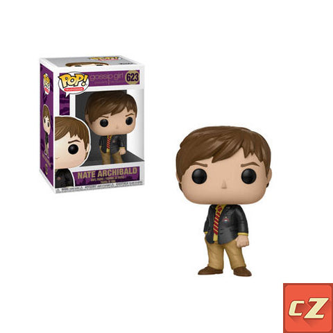 Funko Pop! Television: Gossip Girl Nate Archibald #623 NIB cZ *New In Box* - CollectorZown