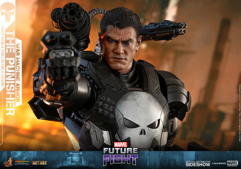 PRE-ORDER: Hot Toys The Punisher War Machine Armor Sixth Scale Figure