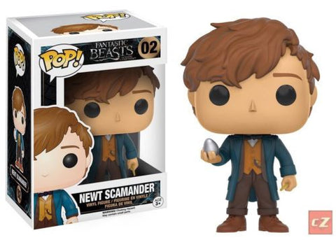 Funko Pop! Movies: Fantastic Beasts Newt Scamander #02 *New In Box* - CollectorZown