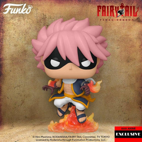 Funko Pop! Animation: Fairy Tail Etherious Natsu Dragneel E.N.D. AAA Anime Exclusive