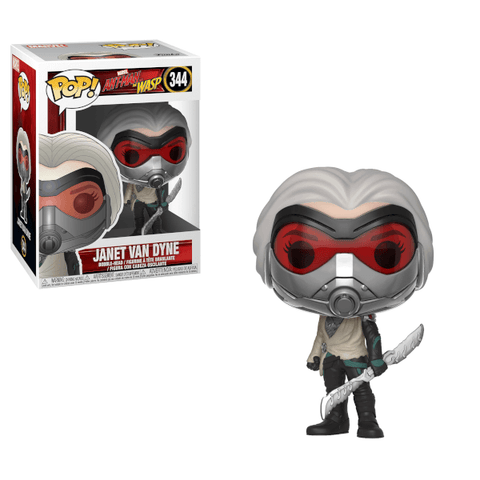 PRE-ORDER: Funko Pop! Marvel: Ant-Man & The Wasp Janet Van Dyne #344 - CollectorZown