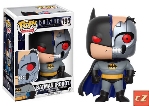 Funko Pop! Heroes: Batman The Animated Series Batman (Robot) #193 - CollectorZown