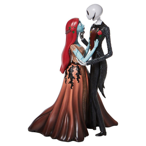 PRE-ORDER: Enesco Disney Showcase Jack & Sally Couture de Force Statue