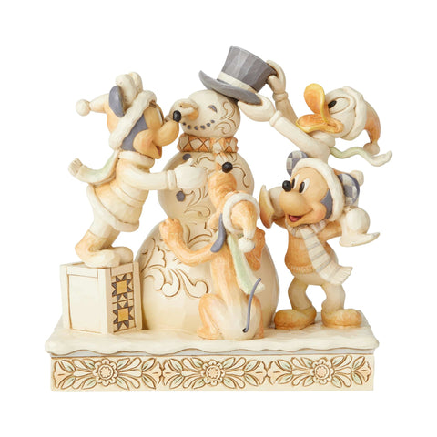 Enesco Disney Traditions Fab Four White Woodland Statue