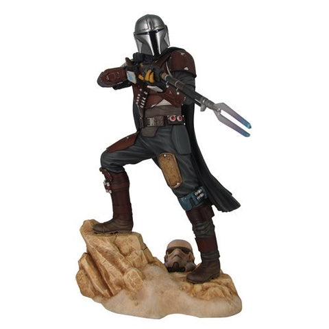 Diamond Select Star Wars Premier Collection The Mandalorian MK1 Statue