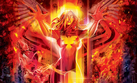 Sideshow Collectibles Dark Phoenix Art Print