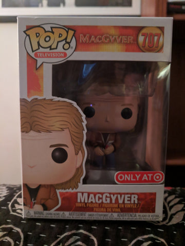 Funko Pop Television: Macgyver - Macgyver Target Exclusive