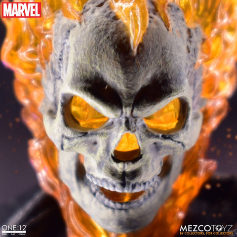 PRE-ORDER: Mezco Toyz Marvel Ghost Rider & Hell Cycle One:12 Set