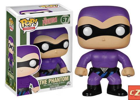 Funko Pop! Heroes: The Phantom #67 *New In Box*