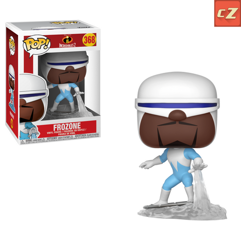 Funko Pop! Disney: The Incredibles 2 Frozone #368 *New In Box* - collectorzown