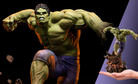 PRE-ORDER: Iron Studios Battle Diorama Series Hulk 1/10 Art Scale Statue