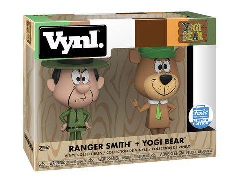 Funko Vynl Yogi Bear: Ranger Smith + Yogi Bear Funko Shop Exclusive
