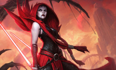 Sideshow Collectibles Asajj Ventress: Ascension Art Print
