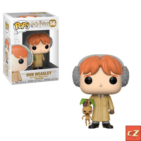 Funko Pop! Harry Potter: Ron Weasley (Herbology) #56 *New In Box* - CollectorZown