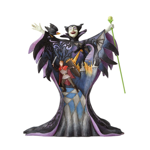 Enesco: Disney Traditions Maleficent with Scene Statue