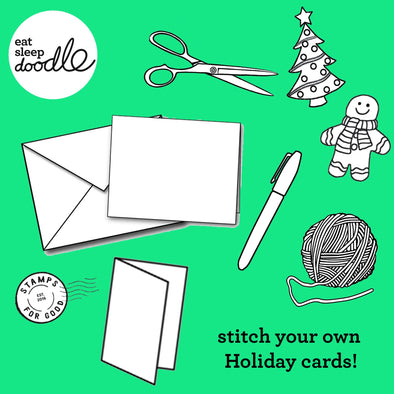 stitch your own Holiday cards!