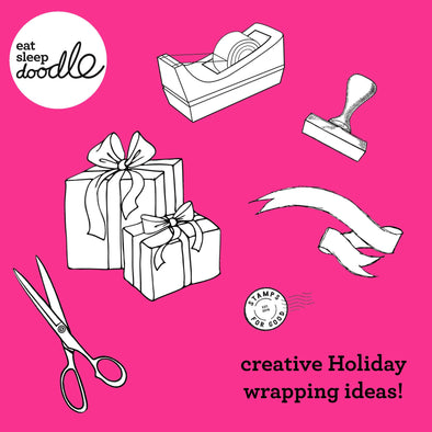 Creative Holiday wrapping ideas