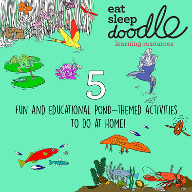 5 fun and educational pond-themed activities for children
