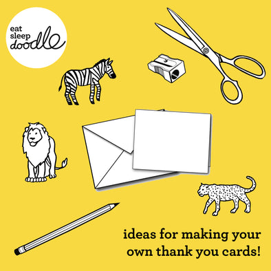 ideas for making your own thank you cards