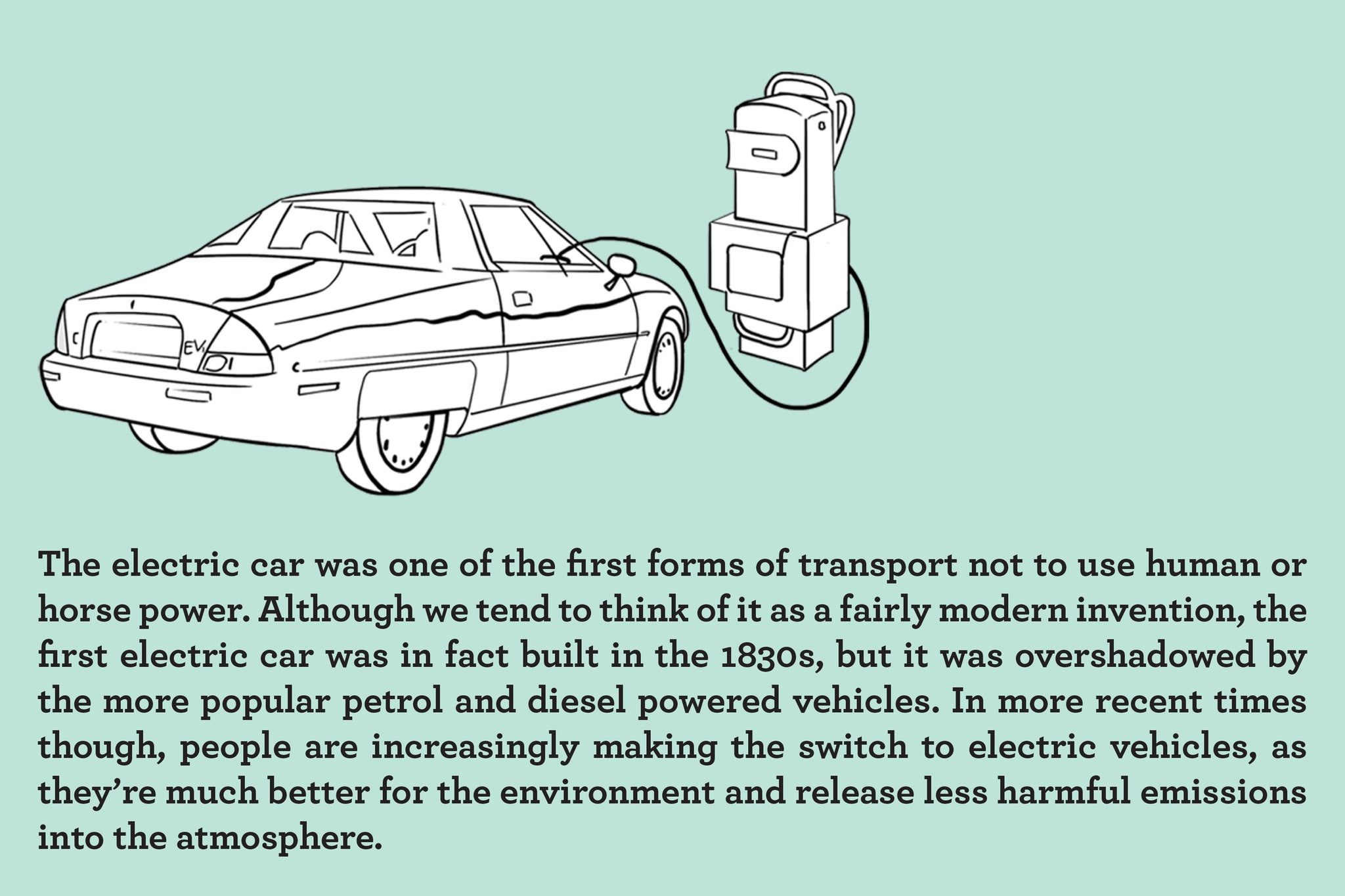 electric car facts for kids