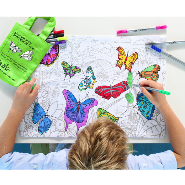 butterfly gifts to color