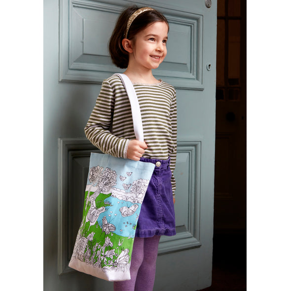 colorful butterfly bag