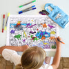 coloring dino fun activity