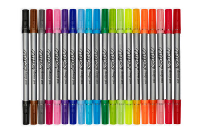 artist set of 20 wash-out markers