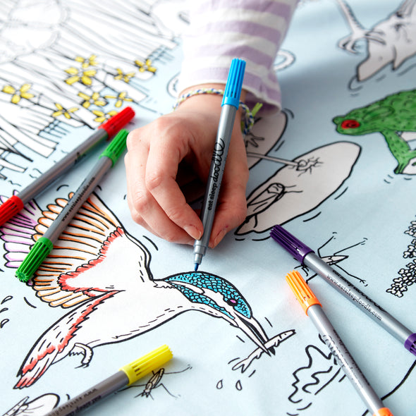 wildlife coloring activity