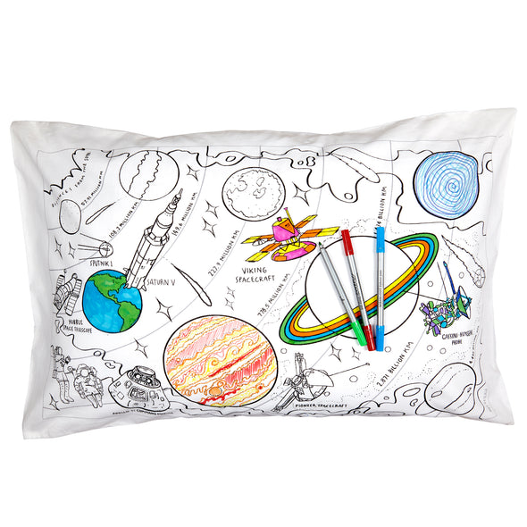 color in space pillowcase