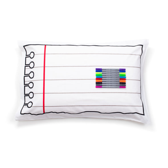 doodle pillowcase to customize from eatsleepdoodle