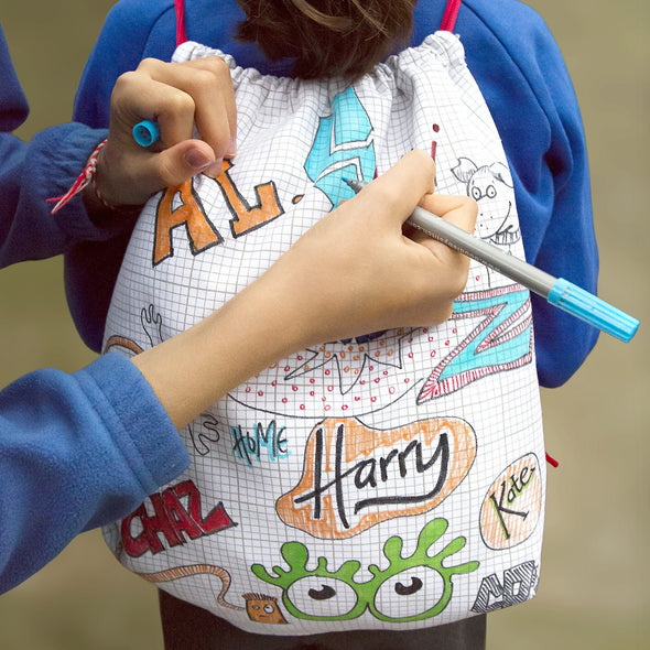 doodle backpack to personalize