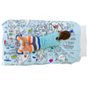 color and learn world map duvet cover - twin