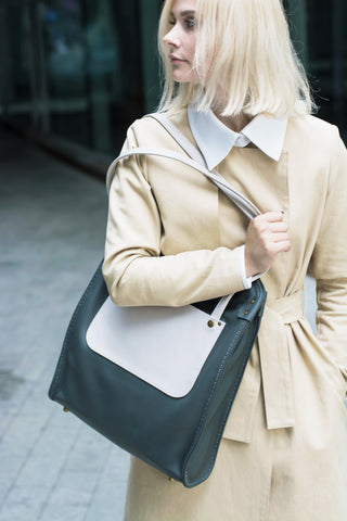 Maruu Leather tote bag