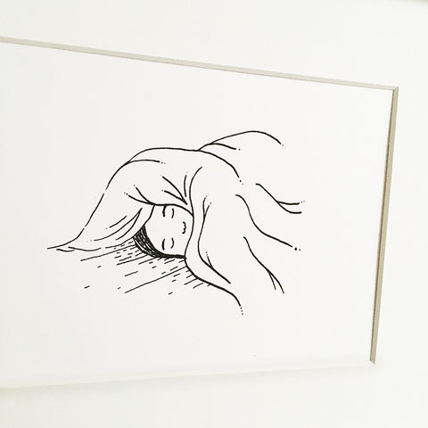 Sunday Snooze - Limited Edition Screenprint