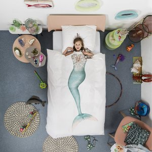 Mermaid Duvet Cover & Sham - Twin