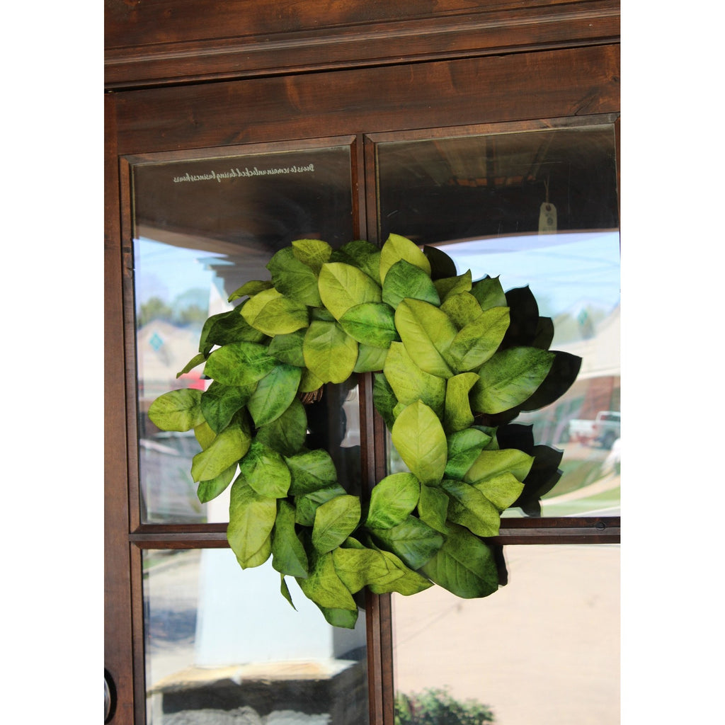 Magnolia Leaves Wreath