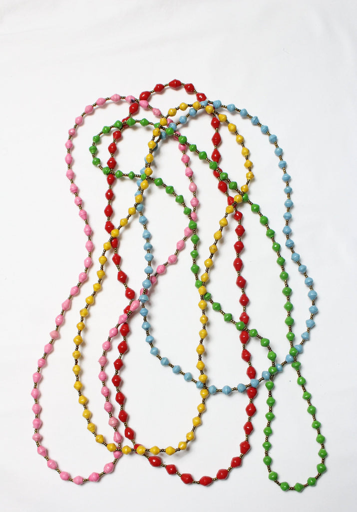 Ugandan Beaded Necklace