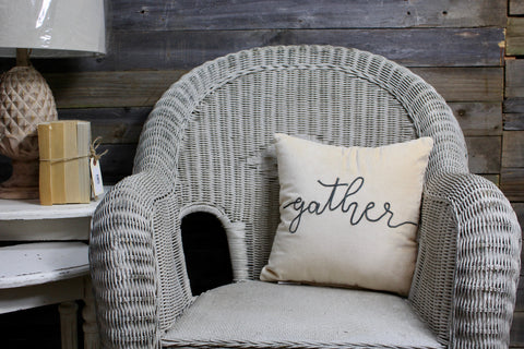 Gather Velvet Pillow