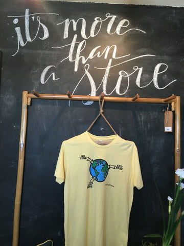 GO Shirt - Yellow Short Sleeve