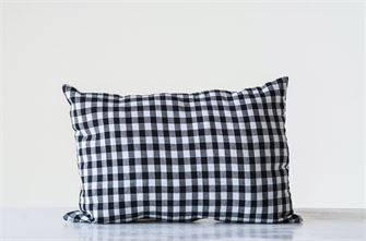 Cotton Gingham Pillow