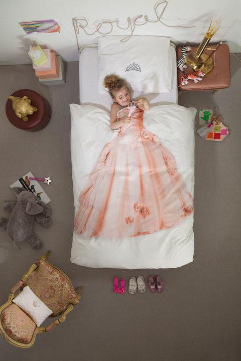 Princess Duvet Cover & Sham - Twin
