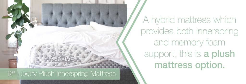 plush mattress option
