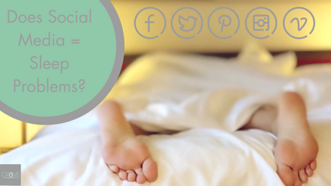 Does social media equal sleep problems