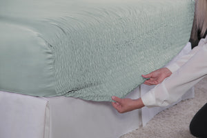 Pale Blue Bed Tite Sheet Set