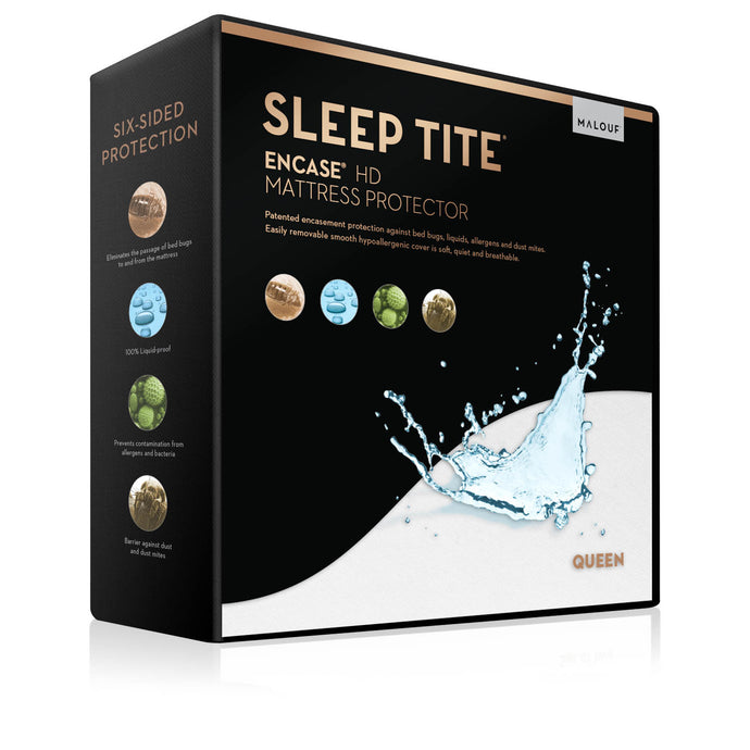 Sleep Tite Encase Smooth Allergy & Bed Bug-Proof Mattress or Box Spring Encasement